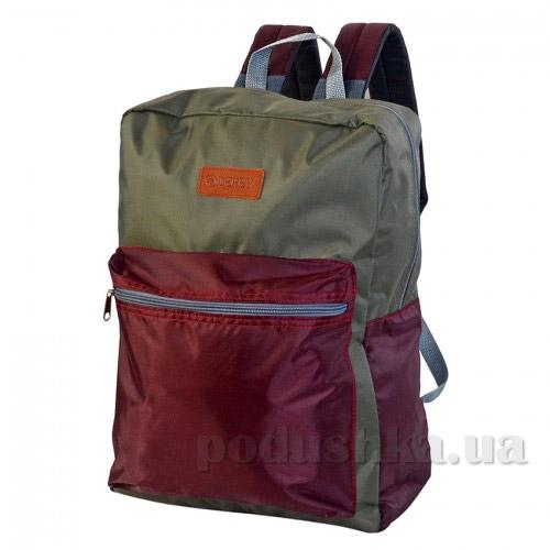 Рюкзак для ноутбука Derby Соло-420 0100605,31 бордо-хаки