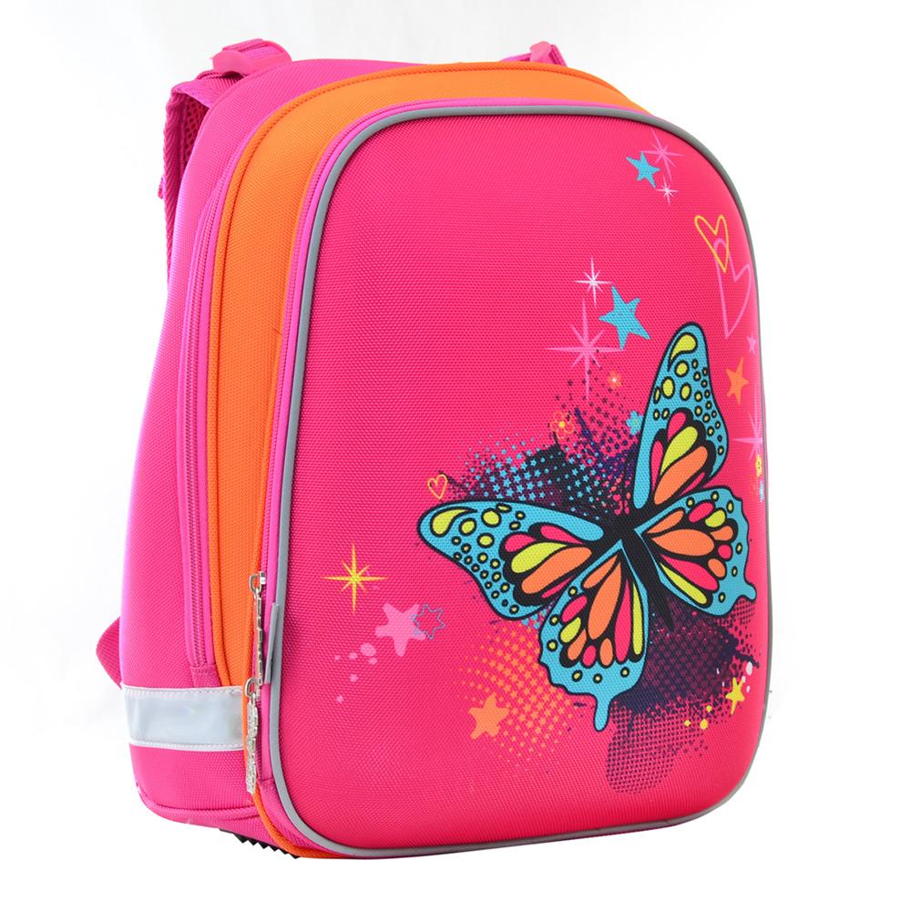 Рюкзак каркасный 1 Вересня H-12 Butterfly blue 38x29x15 см 554579