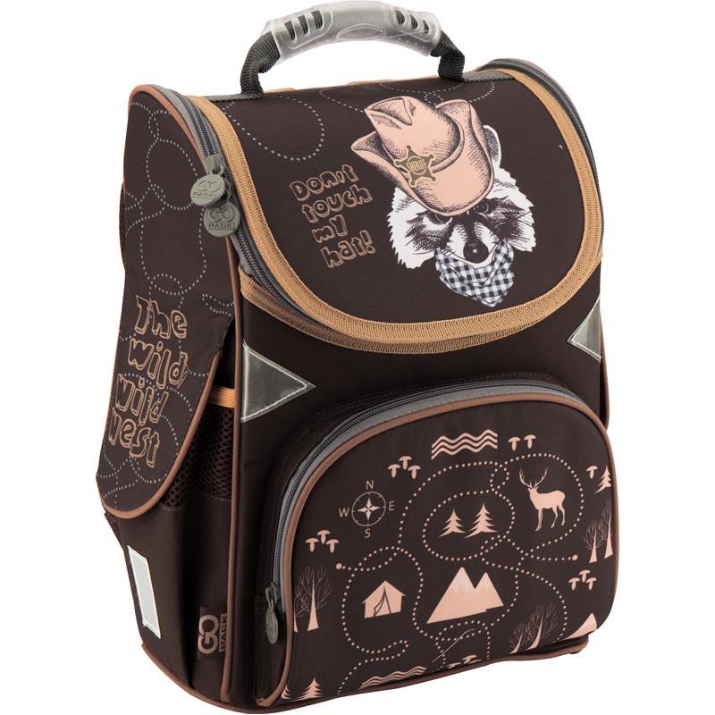 Рюкзак каркасный GoPack 5001S-12 GO18-5001S-12 черный