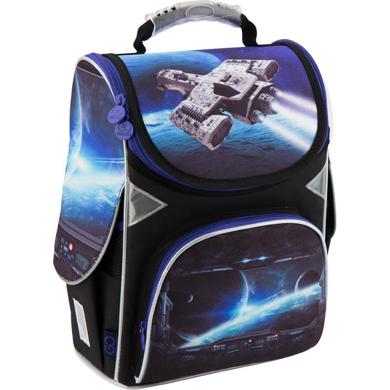 Рюкзак каркасный GoPack 5001S-16 GO18-5001S-16 синий