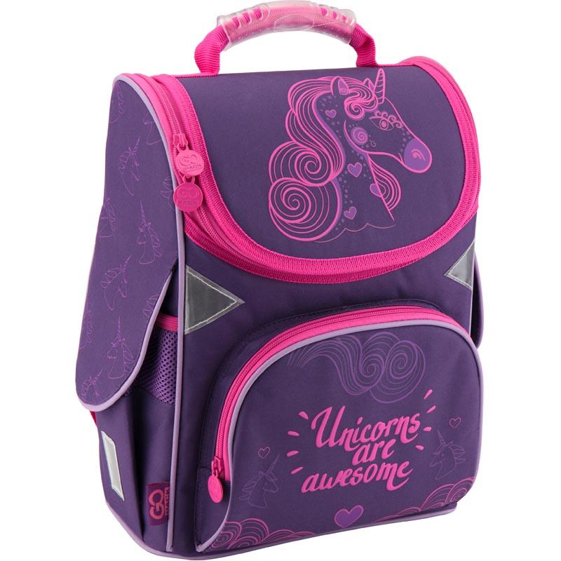 Рюкзак каркасный GoPack 5001S-7 GO18-5001S-7 фиолетовый
