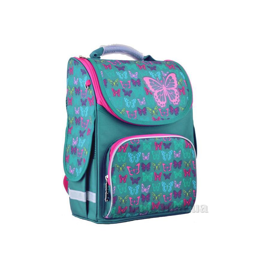 d33a52768e43 Рюкзак каркасный Smart PG-11 Butterfly turquoise 554449 купить в ...
