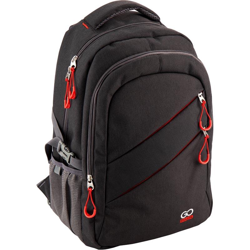 Рюкзак молодежный GoPack 110 GO-2 GO18-110XL-2 черный