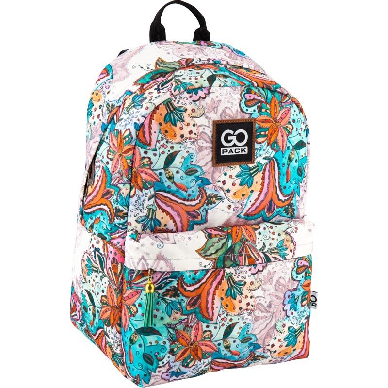 Рюкзак молодежный GoPack 125 GO-4 GO18-125L-4 бирюзовый