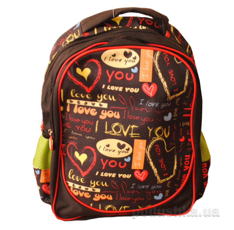 Рюкзак молодежный с твердой спинкой Love YES 1 Вересня 551578