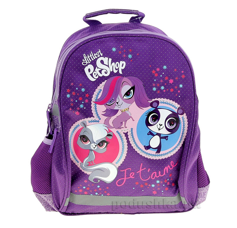 Рюкзак мягкая спинка Littlest Pet Shop LPBB-UT1-977