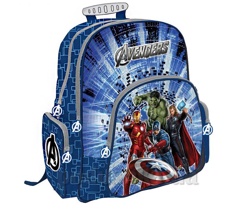 Рюкзак ортопедический с EVA-спинкой Avengers