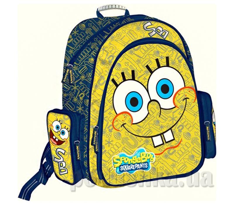 Рюкзак ортопедический с EVA-спинкой Sponge Bob