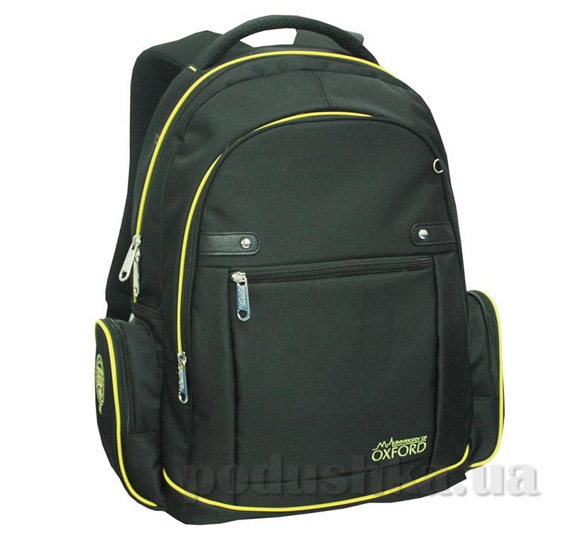 Рюкзак подростковый  Х084 Oxford 1 Вересня 552372 черный