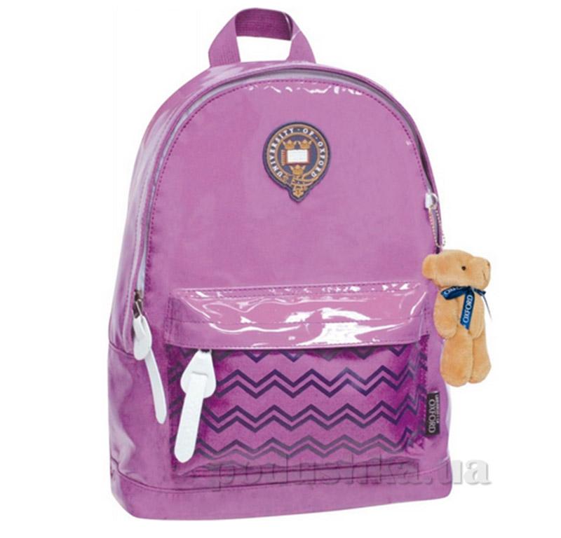 Рюкзак подростковый  Х089 Oxford 1 Вересня 552012 фиолетовый