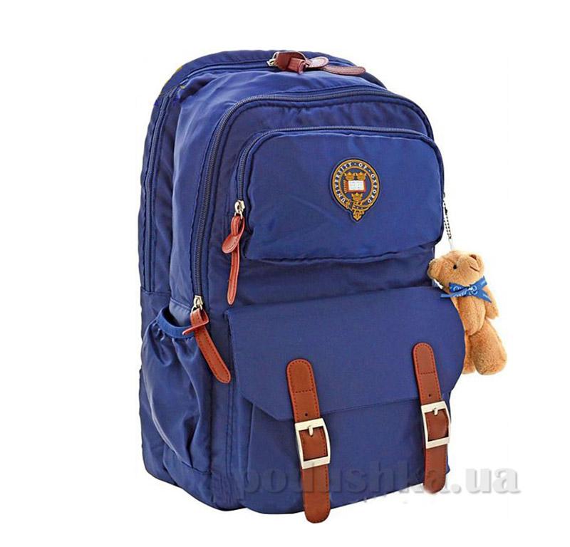 Рюкзак подростковый  Х163 Oxford 1 Вересня 552567 синий