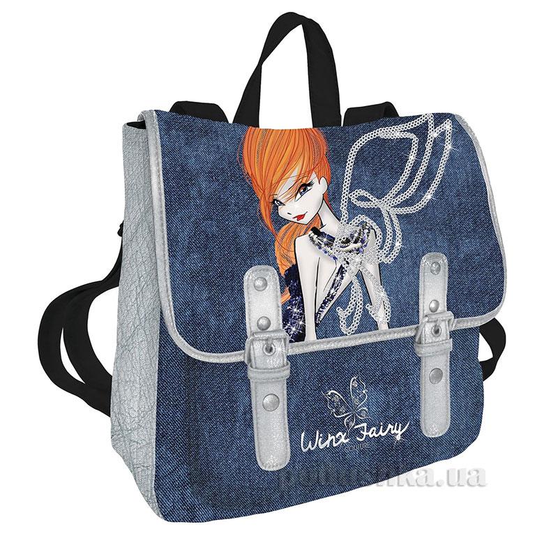 Рюкзак с декоративным клапаном Winx WXBB-UT2-599 Kinderline