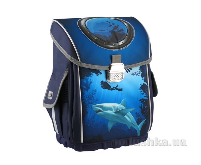 Рюкзак школьный каркасный Kite Deap Sea 503‑2