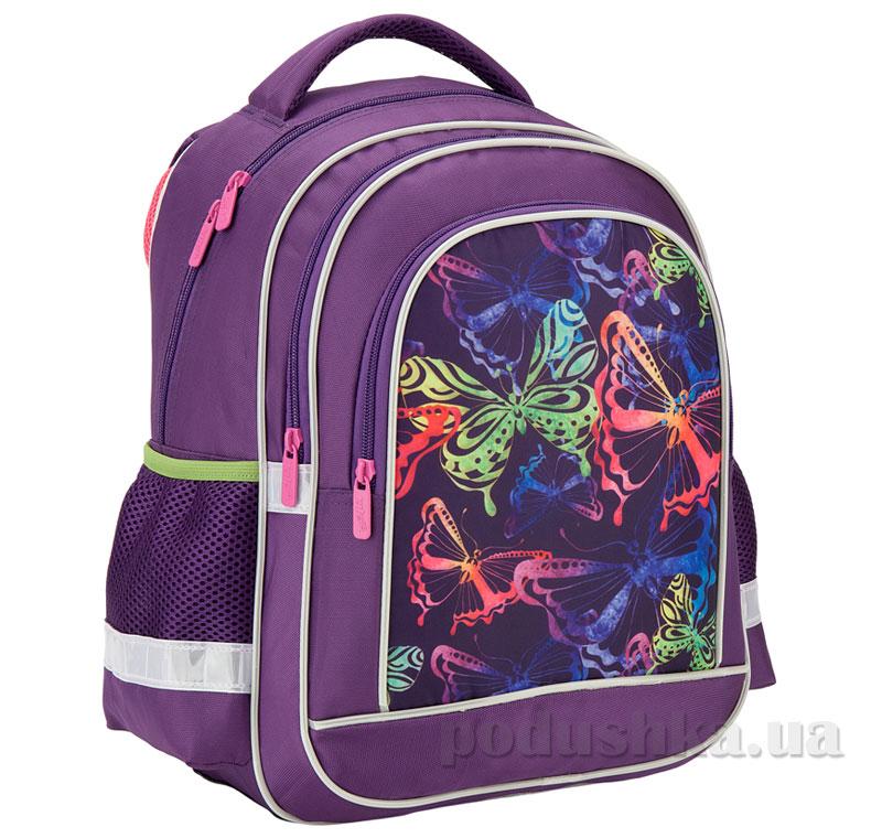 627d5664ad7f Рюкзак школьный Kite 509 Neon butterfly K17-509S-2 фиолетовый купить ...