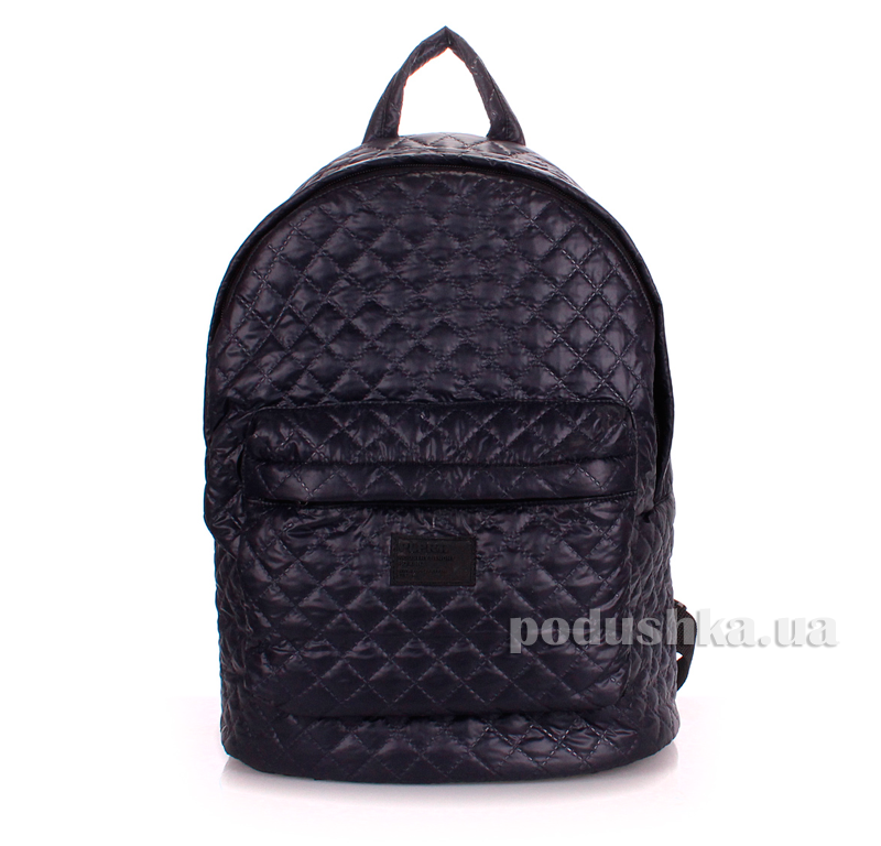 Рюкзак стеганый Poolparty backpack-theone-darkblue