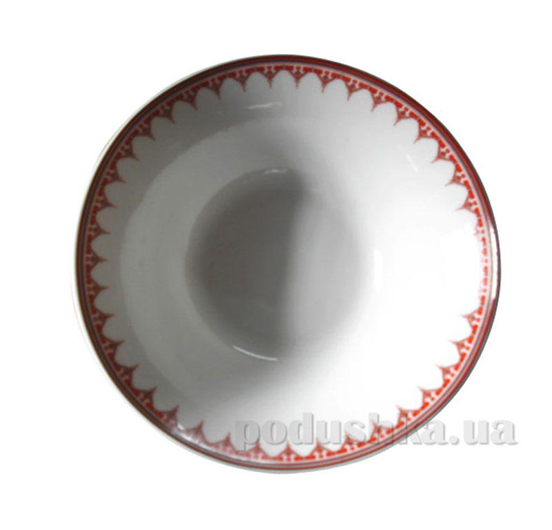 Салатник 8 вышиванка красный ромб ST 30006-005