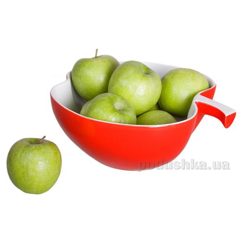 Салатник Apple Trattori Asa Selection красный 28 см