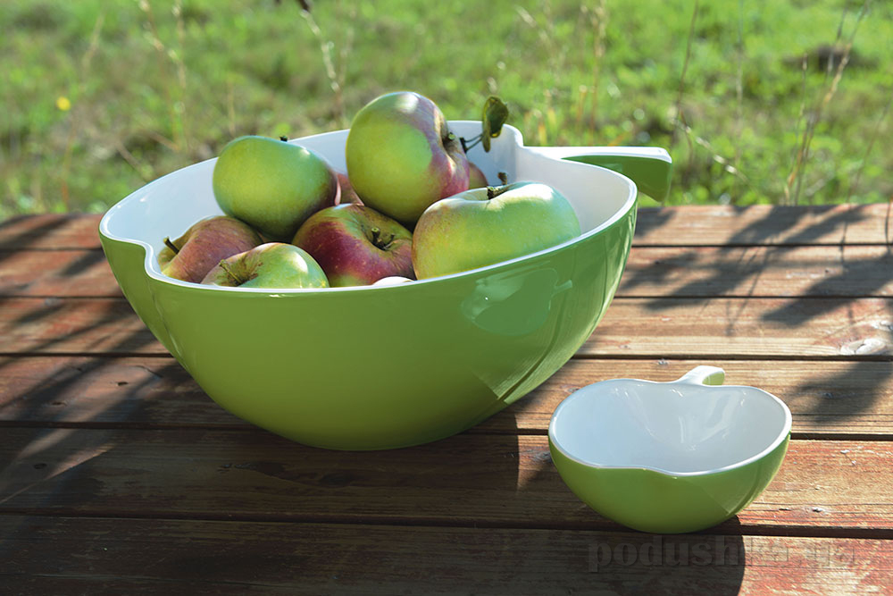 Салатник Apple Trattori Asa Selection зеленый 12 см