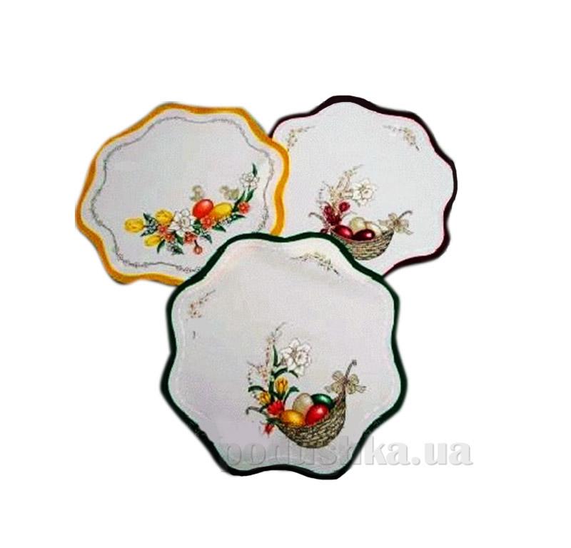 Салфетка декоративная Пасха круглая