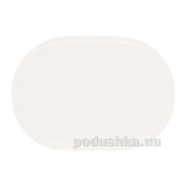 Салфетка IQ-Dekor PVC Uni овальная белая