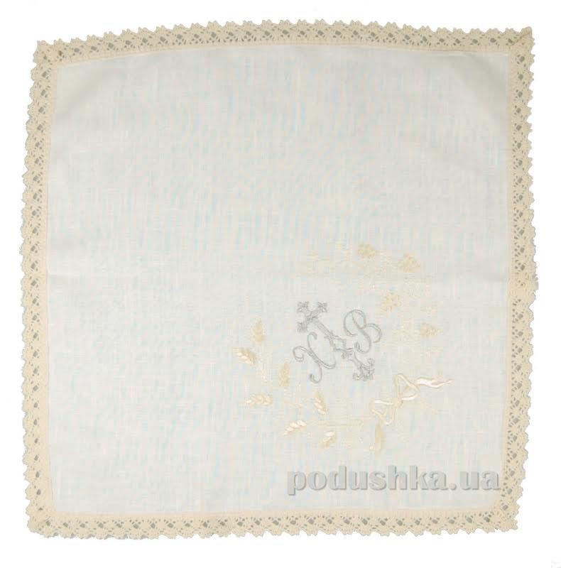 Салфетка пасхальная Грандтекс с вышивкой кружево 101743