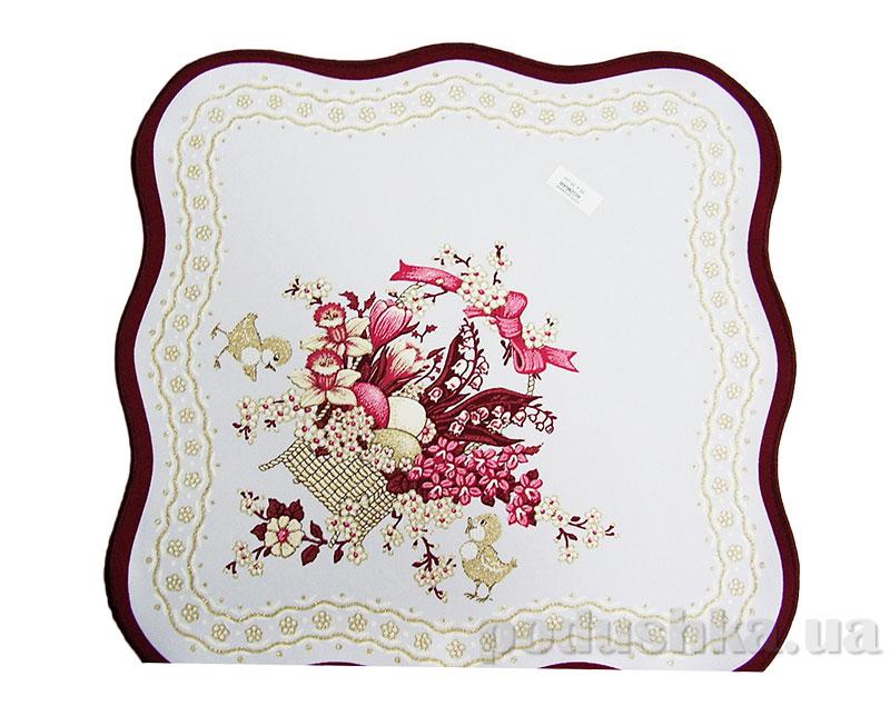 Салфетка пасхальная квадратная Польша 156114 с вышивкой