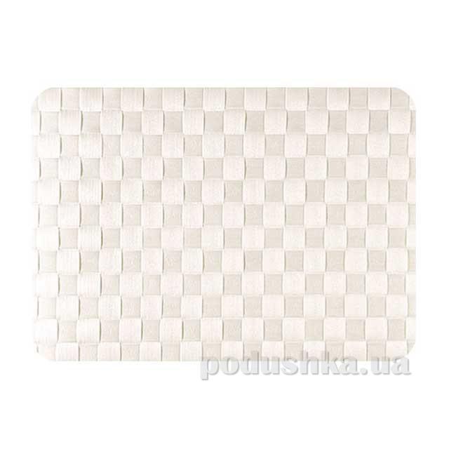 Салфетка плетеная IQ-Dekor PP белая