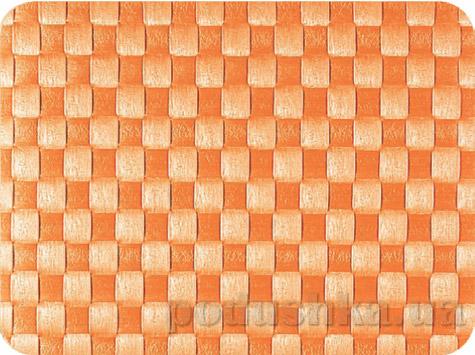 Салфетка плетеная IQ-Dekor PP оранжевая