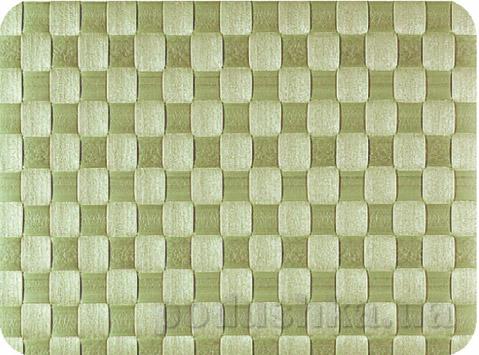 Салфетка плетеная IQ-Dekor PP травянисто-зелёная
