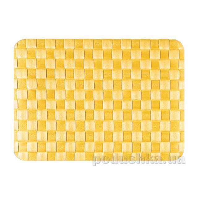 Салфетка плетеная IQ-Dekor PP желтая