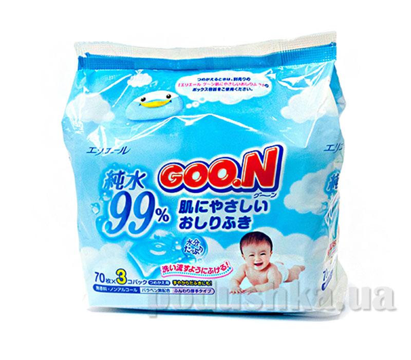 Салфетки влажные для младенцев Goo.N