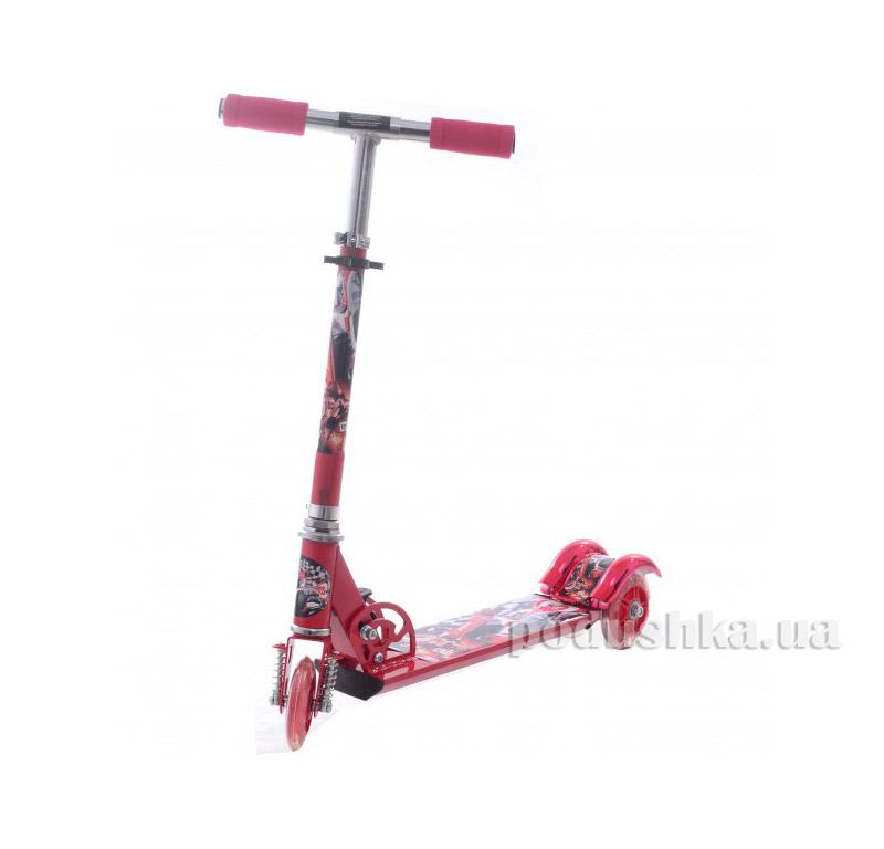 Самокат Profi Trike BB 3-009-1 Формула Красный