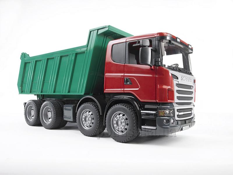 Самосвал Bruder Scania R-series М1:16