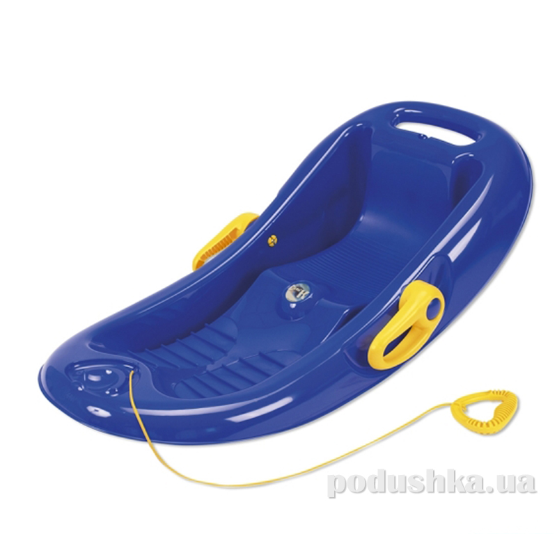 Санки (корыто) Snow Flipper de luxe синие 26002