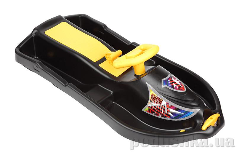 Санки Plast Kon Snow Formule черные SAN-00-62