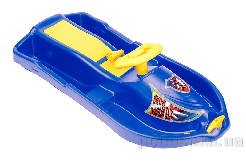 Санки Plast Kon Snow Formule синие SAN-00-61