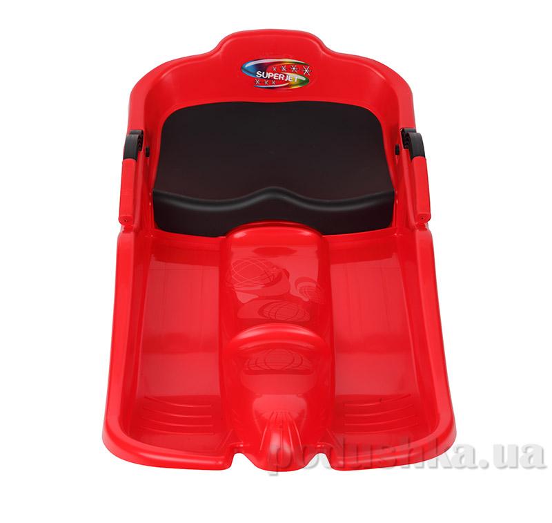 Санки Plast Kon Super Jet красные SAN-00-53