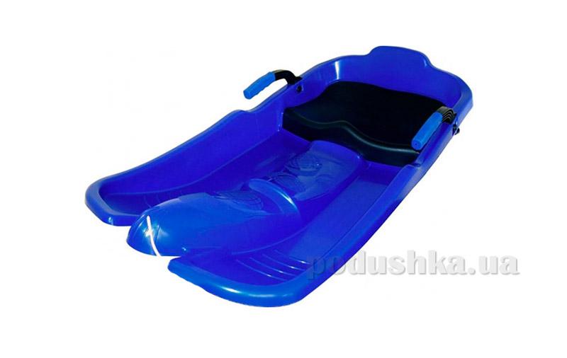Санки Plast Kon Super Jet синие SAN-00-54