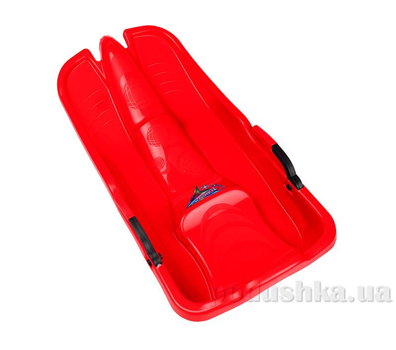 Санки Plast Kon Turbo Jet красные SAN-00-55