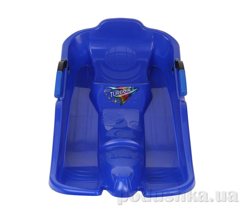 Санки Plast Kon Turbo Jet синие SAN-00-56