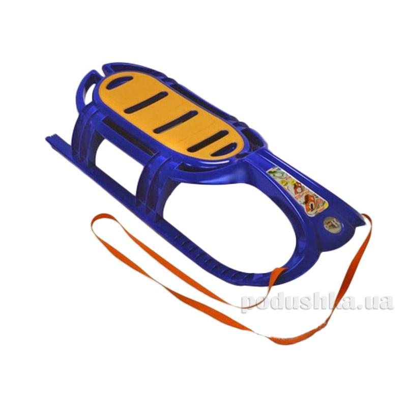 Санки Snow Tiger comfort KHW Kunststoff 21502 синие