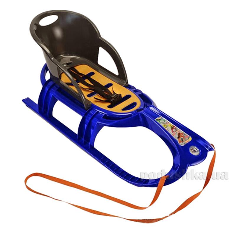 Санки Snow Tiger comfort KHW Kunststoff 29402 синие