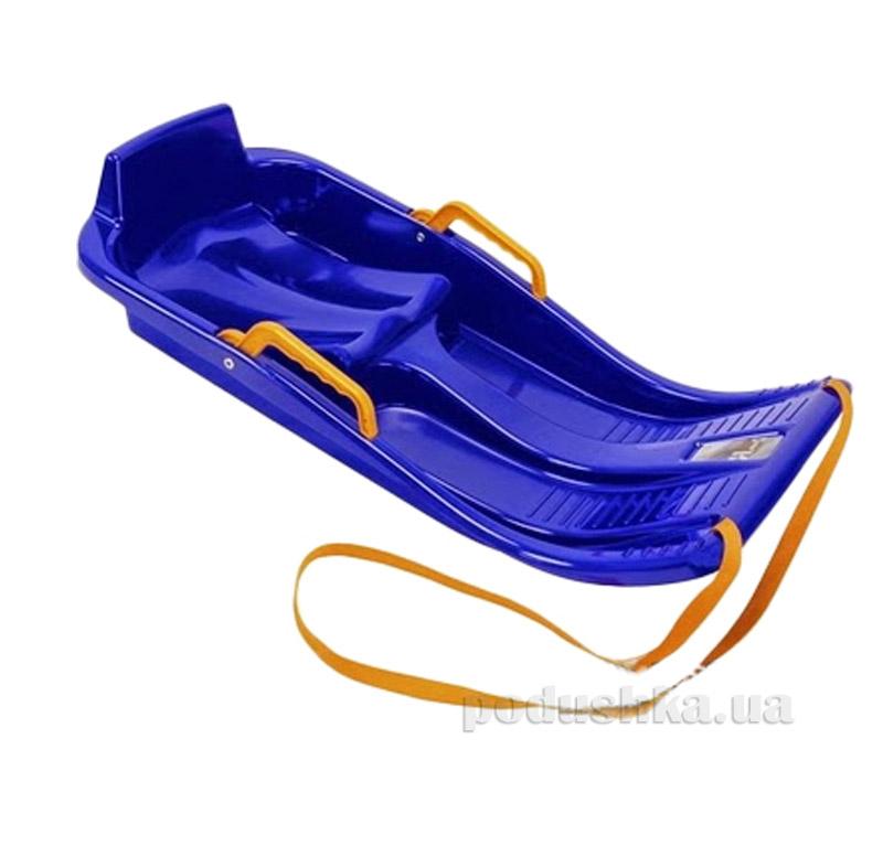 Санки-корыто Minibob KHW Kunststoff 23002 синие
