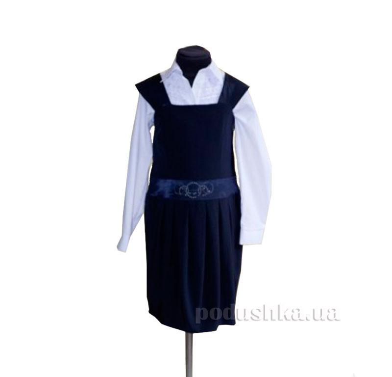 Сарафан для девочки Sara Rossa темно-синий