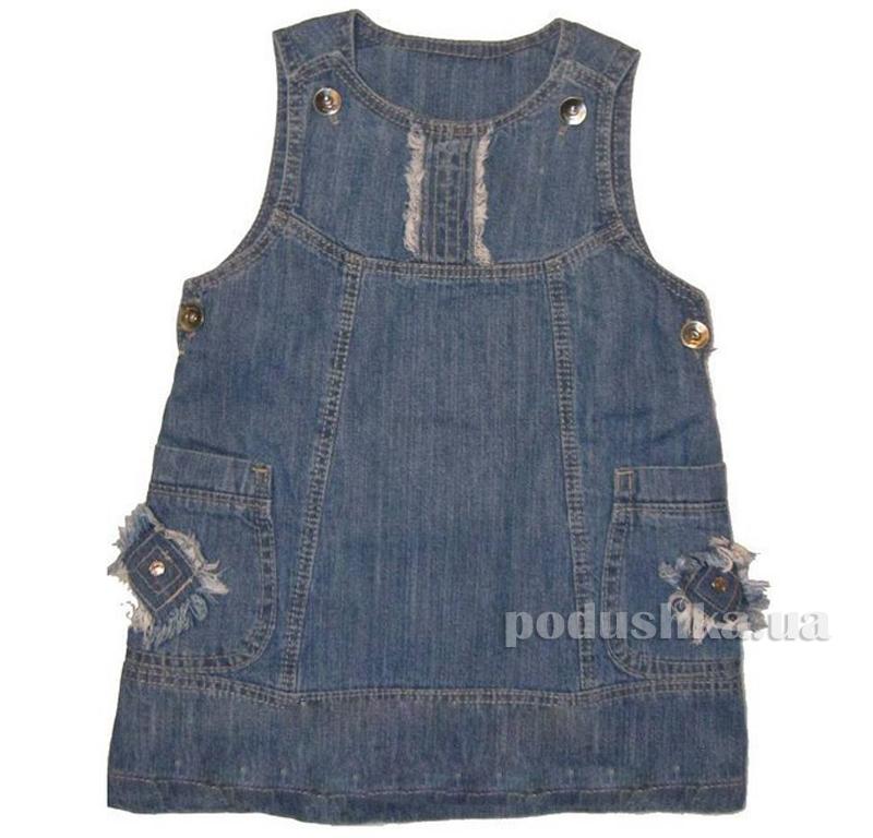 Сарафан джинс Одягайко 1416