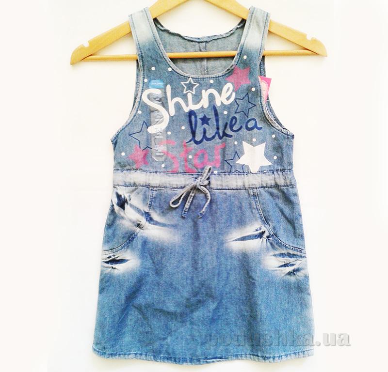 Сарафан джинсовый для девочки Gloria Jeans 60478