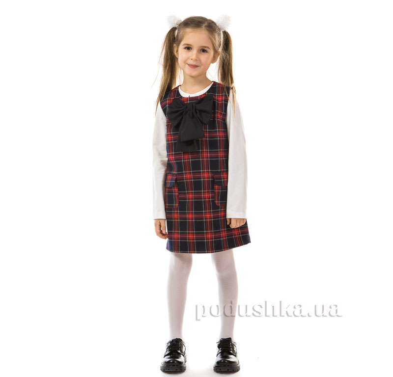 Сарафан школьный Kids Couture 17-181 в клетку
