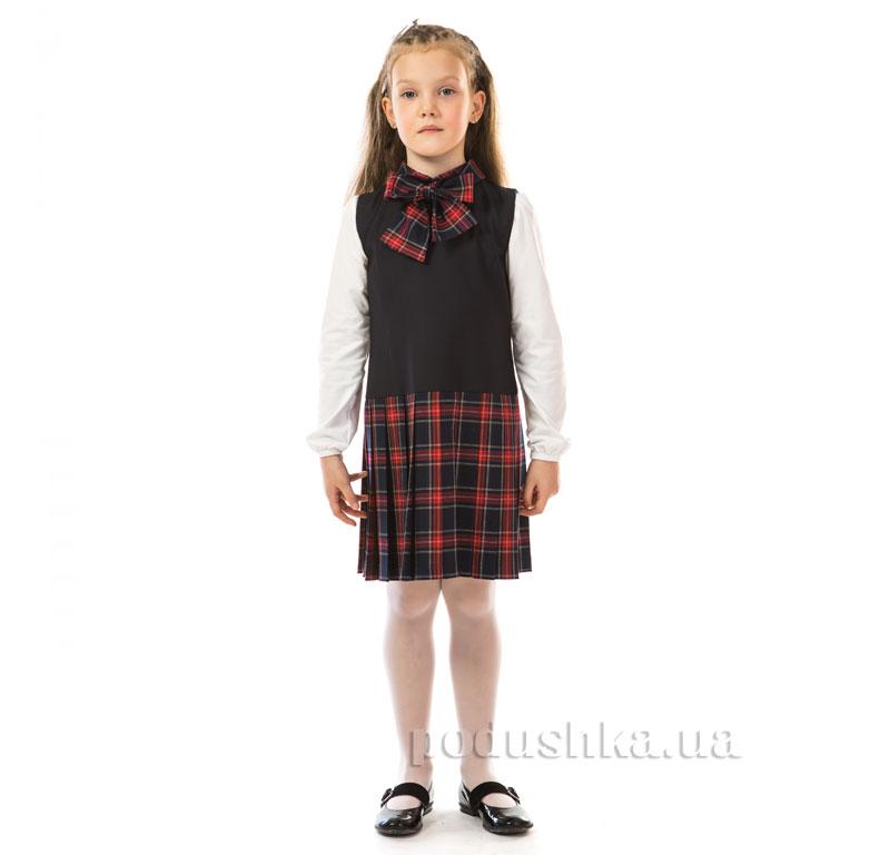 Сарафан школьный Kids Couture 17-195а в клетку