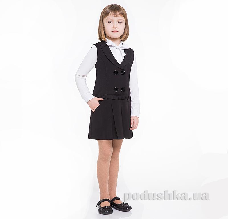 Сарафан школьный Panda ПА-04789-13 черный