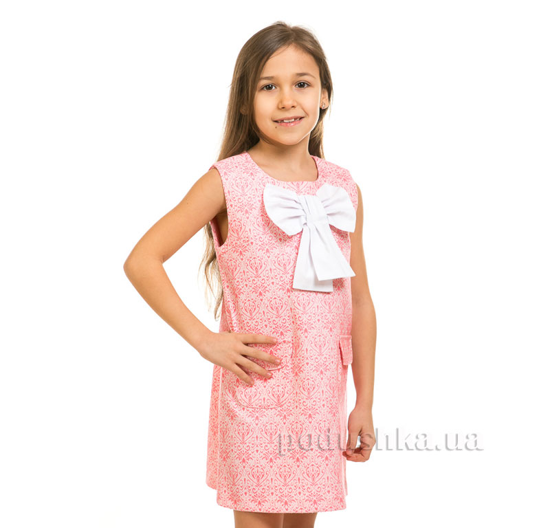Сарафан Жаккард Kids Couture 6-001 розовый 128  Kids Couture